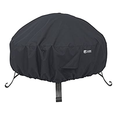 Classic Accessories Water-Resistant 36 Inch Round Fire Pit Cover
