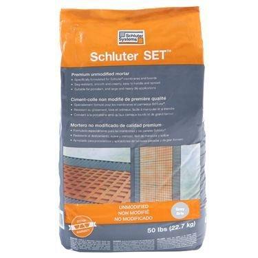 Schluter Set White 50 lbs Bag UNMODIFIED Thin-SET...