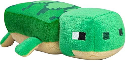 Minecraft 889343107221 8982 Sea Turtle Plush Happy Explorer Meeresschildkröte Plüsch, Verschieden