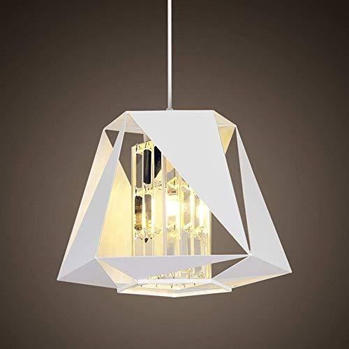 ChangHua1 Colgante De Cristal Luz Diseño Moderno Araña De Moda Personalidad Creativa Lámpara Minimalista Colgante G4 Lámpara De Hierro Sombra Lámpara Colgante Decorativa Para Mesa De Comedor Habitació