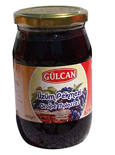 Gülcan - Traubensirup im Glas - Üzüm Pekmezi (450g)