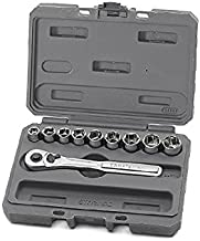 Craftsman 10 pc., 6 pt. 3/8 in. Drive Standard Socket Wrench Set