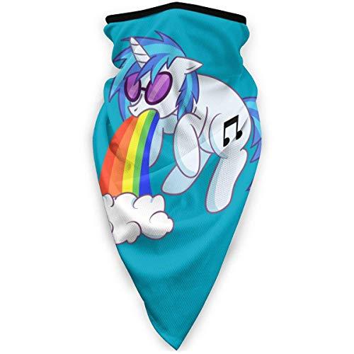 Unicornio Spat out A Calentador de Cuello de Arco Iris Máscara Facial a Prueba de Viento Bufanda de Deportes al Aire Libre