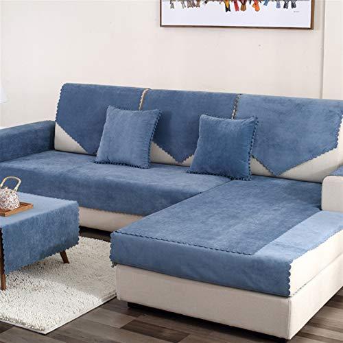 Coperchio di divano facile da installare e comodo Coperchio di divano Granbest, copertura del divano impermeabile Coperchio per animali domestici per bambini Mat protector antiscivolo Slipcover Four S