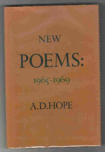 New Poems [Hardcover] by Hope, A.D.