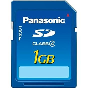 パナソニック SDメモリーカード 1GB RP-SDM01GL1A