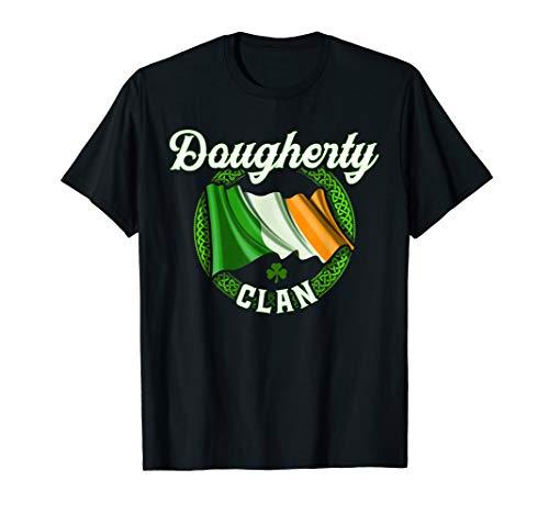 Dougherty Surname Irish Last Name Ireland Flag T-shirt