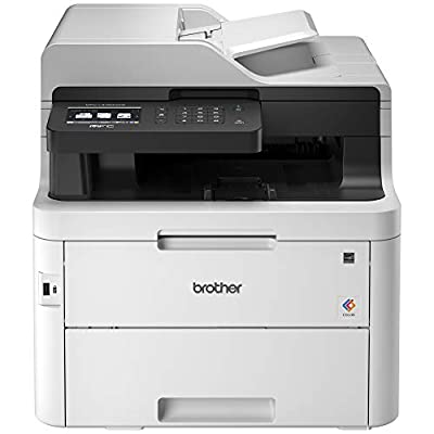 Brother MFC-L3750CDW Digital Color All-in-One Printer, Laser Printer Quality, Wireless Printing, Duplex Printing