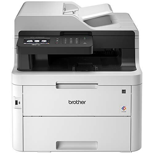 Brother MFC-L3750CDW Digital Color All-in-One Printer, Amazon Dash Replenishment Enabled