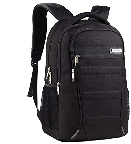 Aspen Laptop Rucksack 15.6-17.3 Zoll Wasserdicht Business Outdoor Backpack Reiserucksack Schulrucksack rucksäcke Herren Damen Schwarz