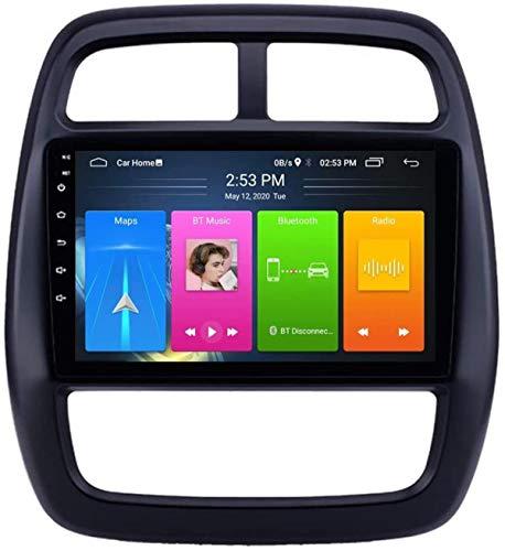 Android 9.1 Estéreo Autoradio Multimedia GPS Navegación para Renault KWID 2012-2017, Soporte Autoradio/DSP FM Am RDS/Sistema de Bluetooth/Mirror Volar/Volante, 8 núcleo, 4G + WiFi: 2 + 32GB