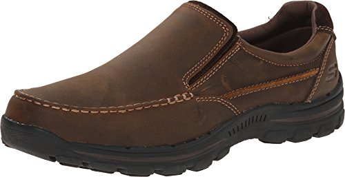 Skechers Relaxed Fit Braver - Rayland Dark Brown 10.5