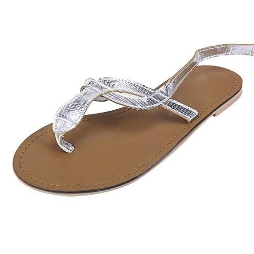 Sommer Damen Schuhe Huckepack Sandalen Schlange Groß Sandalen