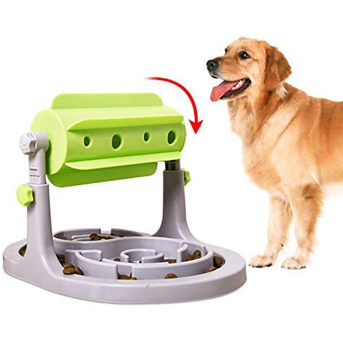 The perseids Dispensadora de Comida para Mascotas,Comedero Automatico,Comedero Antivoracidad para Perros y Gatos