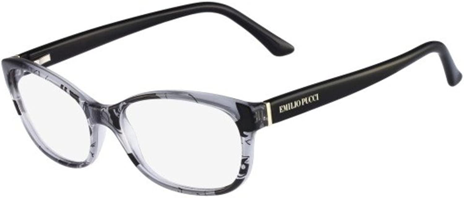 EMILIO PUCCI Eyeglasses EP2716 035 Grey 53MM