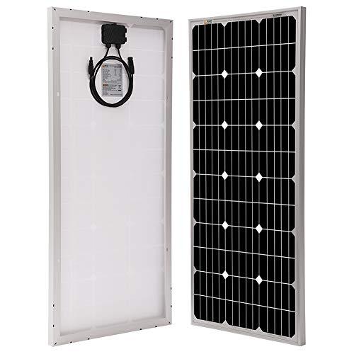 Richsolar 100 Watt 12 Volt Monocrystalline Solar Panel with MC4...