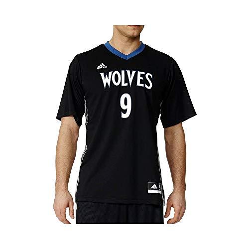 adidas Int Replica Jrsy - Camiseta para hombre, color negro / blanco / azul, talla 2XS