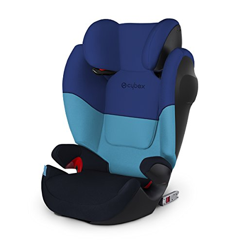 Cybex Silver Solution M-fix SL, Autositz Gruppe 2/3 (15-36 kg), mit Isofix, Blue Moon