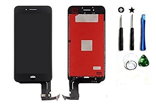 SPES LCD-display vervanging voor iPhone 7 Plus in zwart, 5,5 inch scherm glas touchscreen + schroevendraaier 7-Tri-Point + gereedschap (standaard