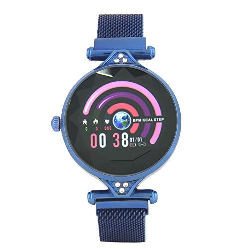 Cloudbox Pulsera deportiva Fitness Tracker al aire libre Moda multifuncional impermeable Electrónico reloj de pulsera (azul)