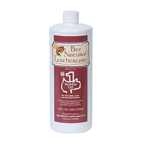 Bee Natural #1 Saddle Oil, 1 pint, Clear