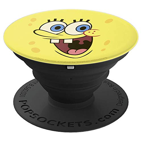 SpongeBob SquarePants Smiling Big Face PopSockets Grip and Stand for Phones and Tablets
