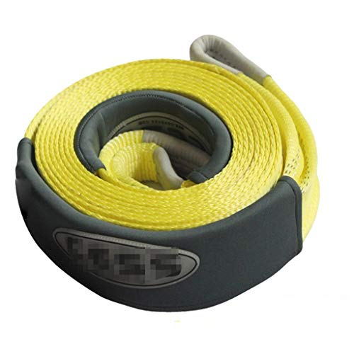 Why Should You Buy LXJ Car Traction Rope Tow Rope, 10T Towing Heavy Tow Rope Towing Winch Pull Tape ...