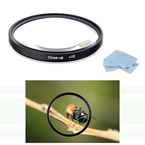 High Definition 72mm +10 Macro Close Up Filter for Canon EF 50mm f/1.2 L USM Lens, Canon EF 85mm f1.2L II USM Lens & Canon EF-S 15-85mm f/3.5-5.6 is USM UD Standard Zoom Lens
