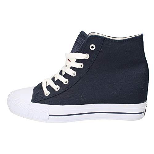 CARRERA JEANS Sneakers Mujer Lona Azul 41 EU