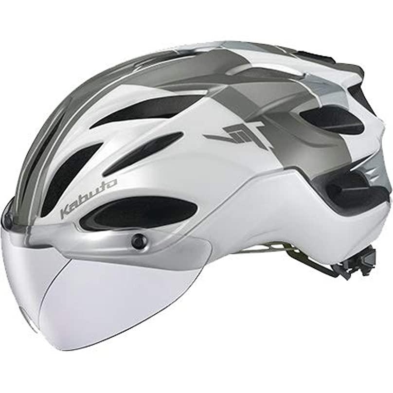 メガロポリス財政民主主義OGK KABUTO(オージーケーカブト) ヘルメット VITT (ヴィット) カラー:G-1パールホワイト サイズ:S/M