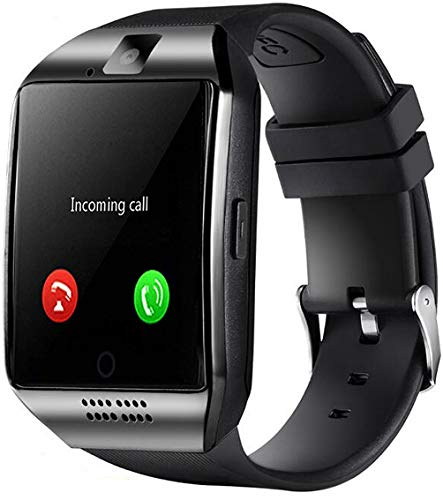 Smart Watch Bluetooth Smartwatch Touch Screen Wrist Watch Sports Fitness Tracker with Camera SIM SD Card Slot Pedometer Bluetooth Watch Compatible with Android iOS for Men Women Gifts