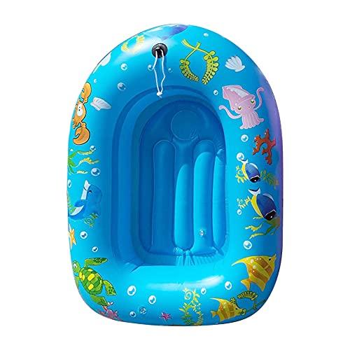Artline Barco de la bañera engrosado inflable mini anillo de natación portátil de la piscina para los niños-C