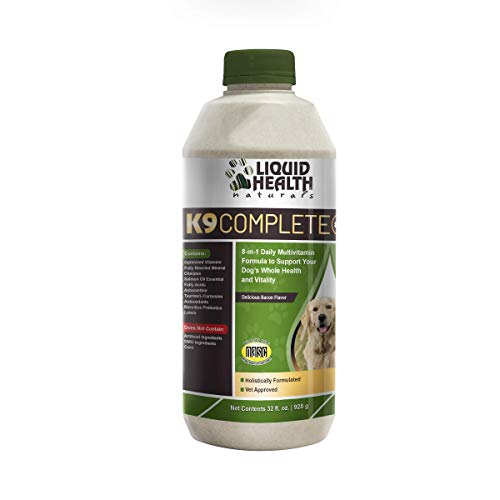 Liquid Health K9 Complete 8-in-1 Multivitamin 32 oz.