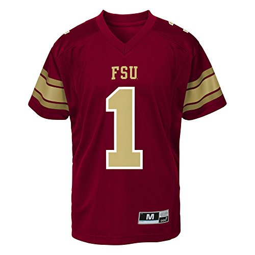 NCAA by Outerstuff NCAA Florida State Seminoles Youth Boys Gen 2 Football Jersey, Maroon, Youth X-Large(18)
