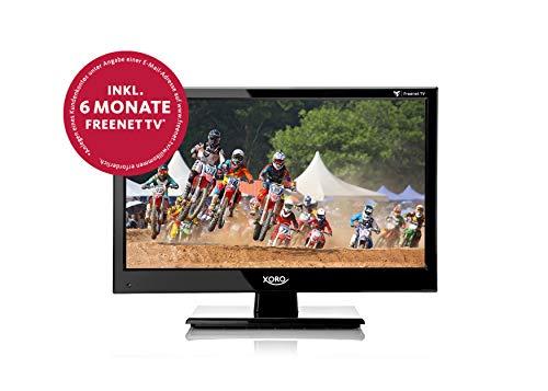 Xoro HTL 1550 KIT (15.6' FullHD, DVB-T2 HD, freenet TV, DVB-C Kabeltuner, 2xUSB, 2xHDMI, HAN 150) Black