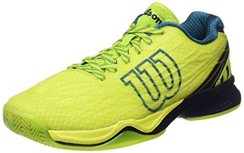 Wilson WRS323470E, Zapatillas de Tenis Hombre, Verde (Lime