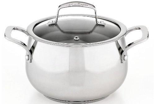 1 X Belgique Stainless Steel Soup Pot, 3 Qt.