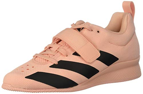 adidas Women's Adipower Weightlifting II Cross Trainer, Glow Pink/Black/Glow Pink, 7 M US