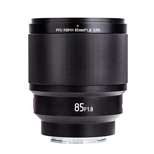 VILTROX PFU RBMH 85mm F1.8 Porträt Objektiv STM Vollformat Autofokus für Sony E Mount Kameras a7 a7II a7III a7R a7RII a7RIII a7SII a9 a6400 a6500 a6300a