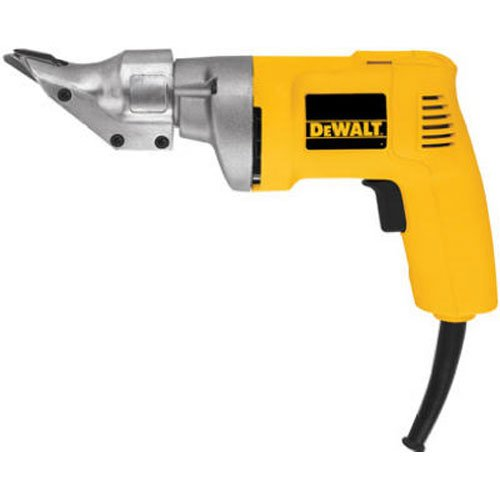 DEWALT Metal Shear, Swivel Head, 18GA (DW890),Yellow