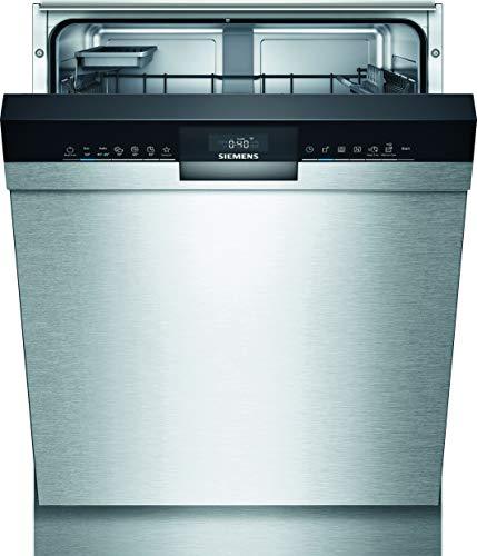 Siemens SN43HS60AE iQ300 Unterbau-Geschirrspüler/A++ / 262 kWh/Jahr / 2660 L/Jahr/WLAN-Fähig über Home Connect/varioSpeed Plus/varioFlex Körbe, Edelstahl