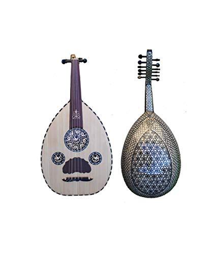 Eingelegtes Ägyptisches Oud-Instrument.