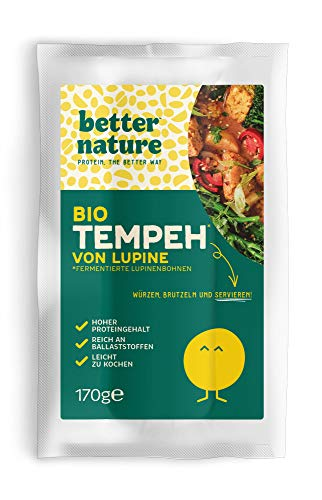 Better Nature - Bio-Lupinentempeh 170g (5er-Pack) Vegane Fleischalternative