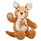Build A Bear Workshop Online Exclusive Kangaroo and Joey Stuffed Animal, 16 inches