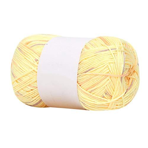 Deirdre Agnes Superfijne bamboe houtskool katoenen draad fijn garen haak kinderen katoenen garen sjaal sok cadeau handgeweven