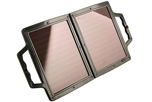 APLEY TOOLS Cargador de batería solar, 4 W, 12 V, 4 W, solapa portátil, panel solar, 12 V, cargador de batería para coches, barcos y casas rodantes