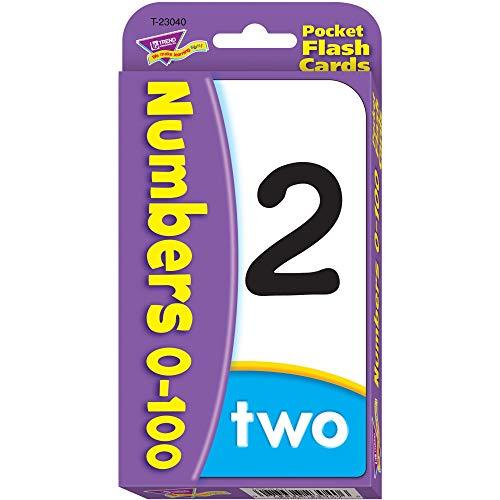 トレンド フラッシュカード 0から100までの数 英単語 カードゲーム T-23040