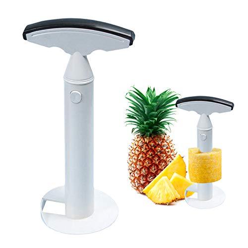 N\O No Affettatrice per Ananas, Pelapatate e Corer per Ananas Cutter in plastica per Ananas Strumento per Tagliare la Frutta per Anelli di Frutta per la casa e la Cucina