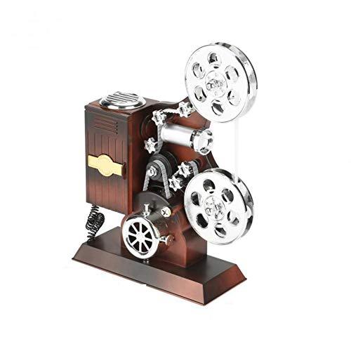 YHDNCG Musik Geschenkbox Schmuckschatulle Projektor Form und Make-up Spiegel Schmuck Aufbewahrungsbox Geburtstag Hochzeitsgeschenk