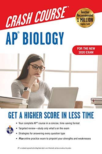 AP® Biology Crash Course, Book + Online: Get a Higher Score in Less Time (Advanced Placement (AP) Crash Course)